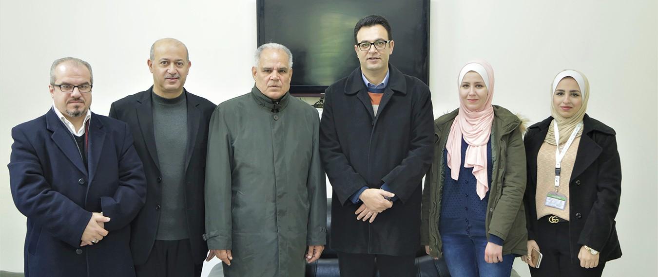 في إطار فتح آفاق تعاون مشترك: وفد من نطوف يزور مجلس أمناء جامعة الأزهر