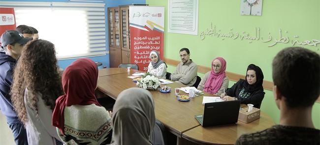 نطوف تطلق فعاليات السنة الثانية من برنامج بريدج فلسطين للفوج الثاني
