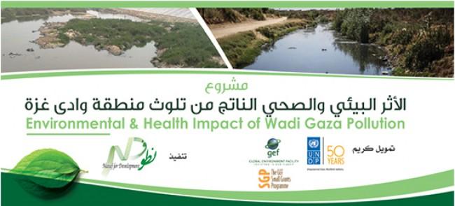 الأثر البيئي والصحي الناتج من تلوث منطقة وادي غزة