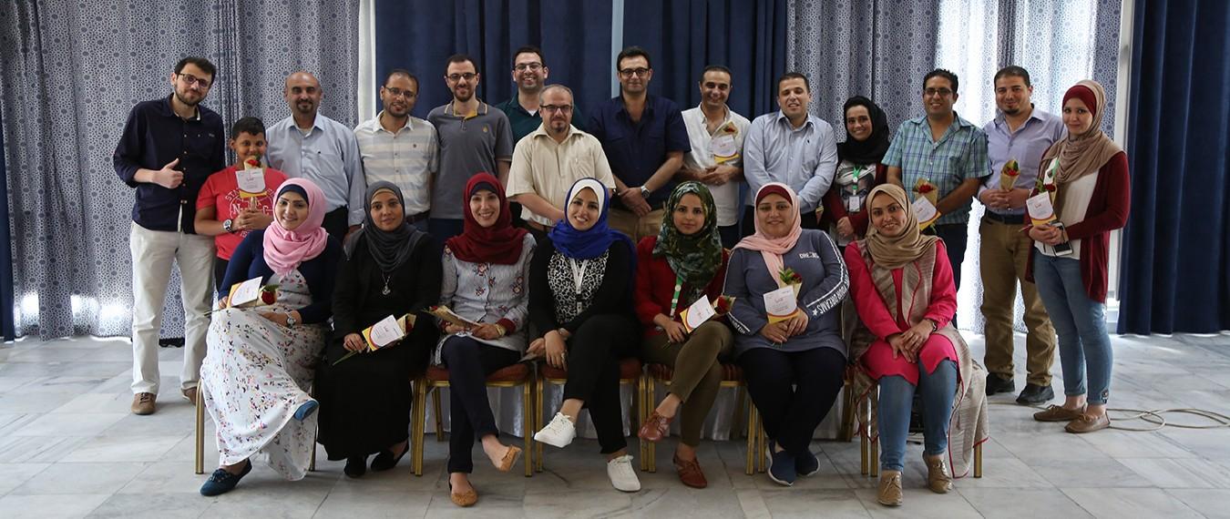 نطوف تختتم فعاليات مخيم الاختيار وتحديد الفئة المستهدفة ضمن برنامج بريدج فلسطين الفوج الثاني