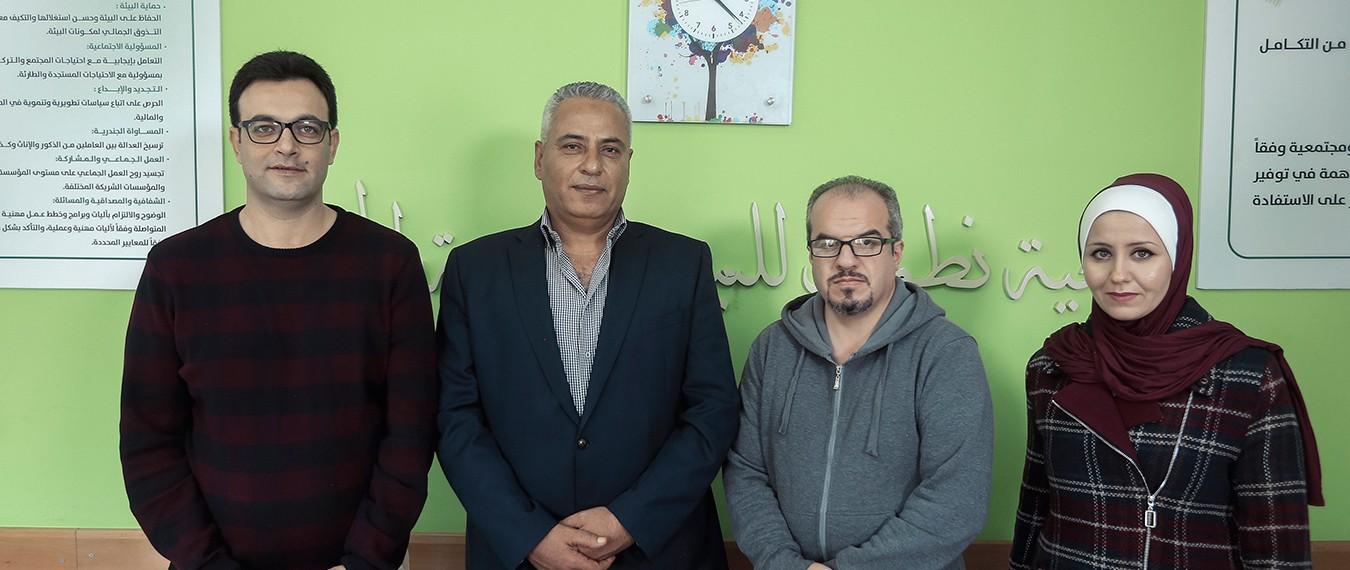 نطوف تستقبل مدير مكتب الاتحاد الأوروبي في غزة