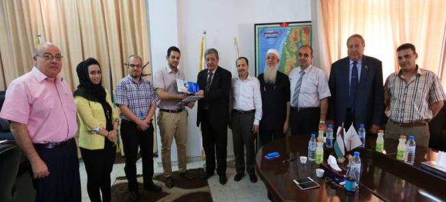 جمعية نطوف توقع اتفاقية تفاهم مع جامعة الأقصى